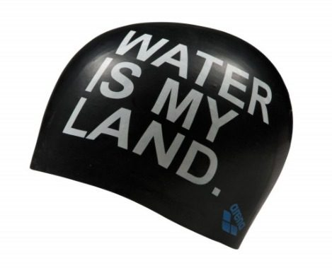 Arena Gorra Silicion Poolish Moulded Water is my land  2a0b61cde37
